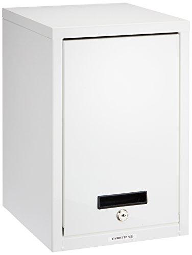 ナカバヤシ セキュリティファイルボックス シロ AL-S100-W