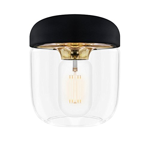 ELUX(エルックス) VITA(ヴィータ) Acorn 1灯ペンダントライト コパー (ブラックコード) 02083 電球別売 【 インテリア ライト 照明 シーリングライト(天井照明) 洋風ペンダントライト 】