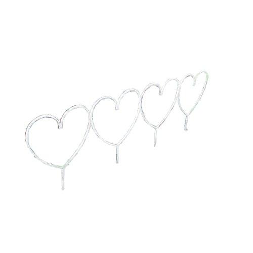 【ジャービス商事】花壇フェンスハート型 【 ジャービス / 花壇フェンス ハート型 / 35330 】