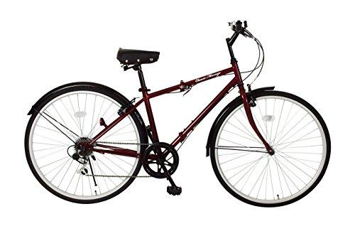 ミムゴ(MIMUGO) 700c折畳自転車 FDB700c  MG-CM700c ワインレッド