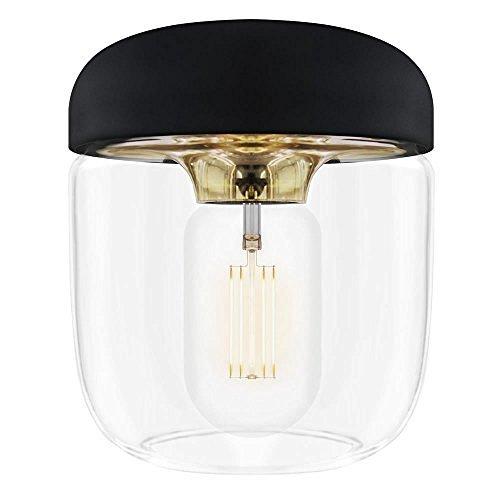 ELUX(エルックス) VITA(ヴィータ) Acorn 1灯ペンダントライト ブラス (ブラックコード) 02082 電球別売 【 インテリア ライト 照明 シーリングライト(天井照明) 洋風ペンダントライト 】