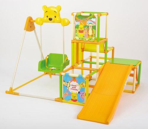 くまのプーさん おりたたみロングスロープキッズパークSP 【 おもちゃ 大型遊具 ジャングルジム 】