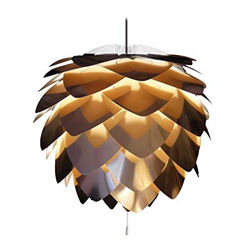 配送員設置送料無料 ヴィータ 北欧デンマーク ペンダントライト シルビア コパー 3灯タイプ コード:ブラック 定価の67%OFF 電球別売 エルックス シーリングライト ライト 照明 洋風ペンダントライト 02030-BK-3 インテリア 天井照明
