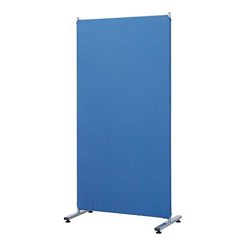ナカバヤシ パーティション 幅80cm×高さ160cm ブルー PTS-1680B