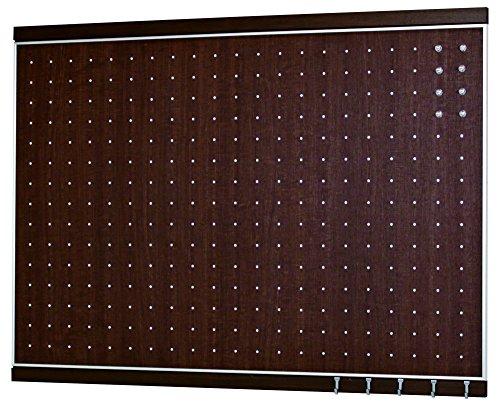 ベルク 【日本製インテリアボード】 フック付きマグボード 600×900 セピア MR4056