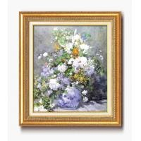 ルノワール名画額F10号 「花瓶の花」 1756340 1183al