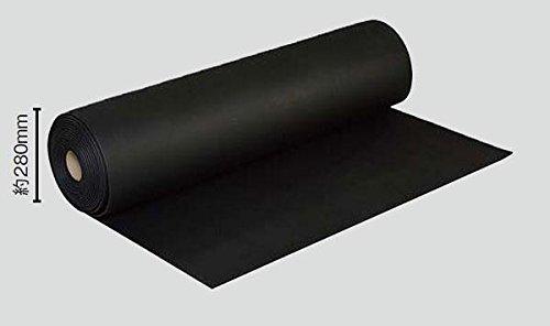 光 エチレンプロピレンゴム(EPDM)スポンジロール巻 5mm厚x1000mm 10M巻 SREP105-10