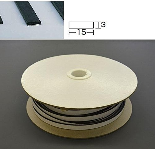 光 板スポンジ巻粘着 3×15 KS315-50TW 50m