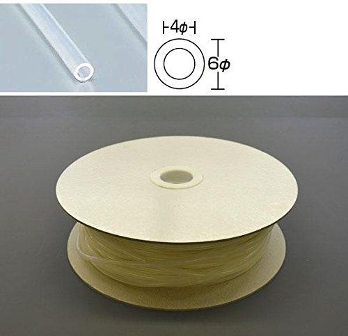 光 シリコンチューブ ドラム巻 6φ 90m巻 SC06-90W 90m