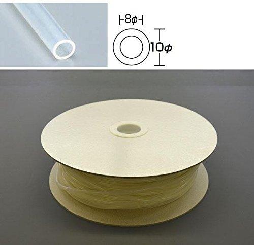 光 シリコンチューブ ドラム巻 10φ 30m巻 SC10-30W 30m