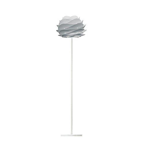 フロアライト 1灯 - カルミナ ミニ - Carmina mini フロア ミスティグレー(ホワイトベース) 【電球別売】 VITA デンマーク ELUX 02079-FL-WH 02079-FL-WH