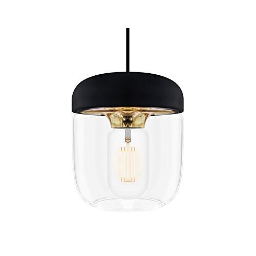 ペンダントライト 1灯 - エイコーン - Acorn ブラス(ブラックコード) 【電球別売】 VITA デンマーク ELUX 02082 02082