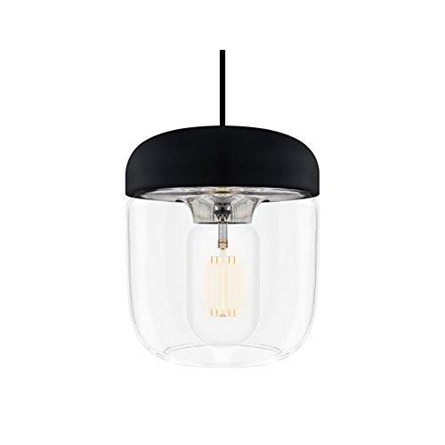 ペンダントライト 1灯 - エイコーン - Acorn スチール(ブラックコード) 【電球別売】 VITA デンマーク ELUX 02081 02081