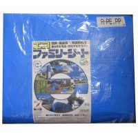萩原工業 エコファミリーシート ♯3000 ブルー 9.0m×9.0m 2枚セット 0314414