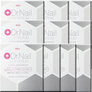 【10個】 Dr.Nail DEEP SERUM(ディープセラム) 3.3mLx10個 (4987067208401) / 製薬会社が提案する、爪トラブル対策のネイルケア☆