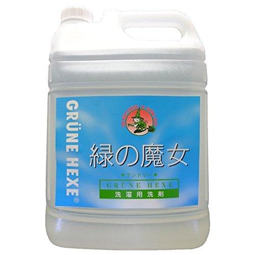【3本セット】緑の魔女 ランドリー 業務用 5L