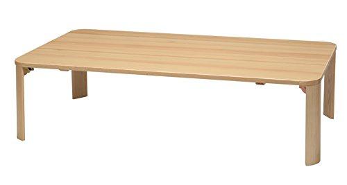 永井興産 軽量ホームテーブル 120 ナチュラル