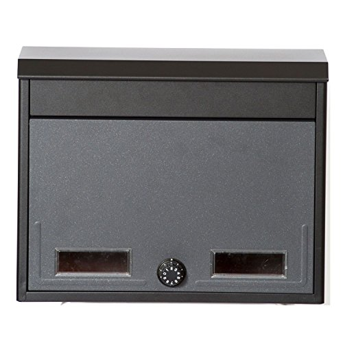 ケイ・ジー・ワイ 郵便受け箱 メールボックス スタイルポスト ブラックグレー SG-2L