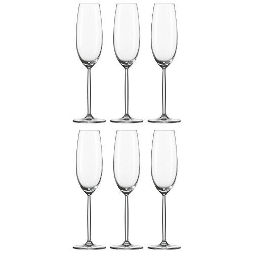 ショット・ツヴィーゼル ( SCHOTT ZWIESEL ) / 【 ディーヴァ シャンパングラス フルートシャンパン 219ml 104100 6個入 】 洋食器 グラス・タンブラー シャンパングラス / ディーヴァ フルートシャンパン EP 219cc