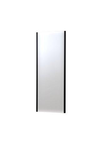 割れない軽量な鏡45×120cmブラック NRM-2/B