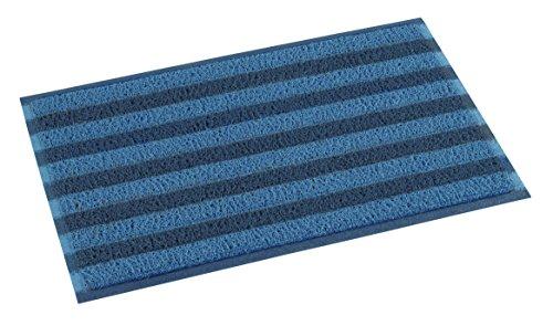 TERAMOTO(テラモト)ケミタングル ストライプM 青/紺 60×90cm