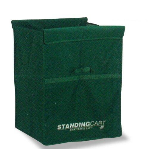 テラモト スタンディングカート(替袋E)緑 ファスナー無し 小 DS2264501
