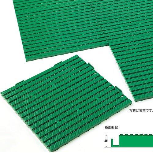 テラモト エコジョイントスノコ 約600×600mm ベージュ MR-091-070-6 6枚セット