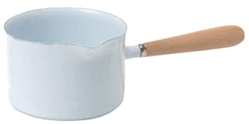 ホーロー 片手鍋 ミルクパン ホワイト 680 ホウローミルクパン ホウロウ 洋食器 キッチン雑貨 ホウロウ雑貨 白 おしゃれ 北欧風 琺瑯 キッチンツール レトロ ナチュラル 至高 アンティーク風 清潔 上品 希望者のみラッピング無料