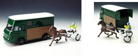 ザビエム SG2 馬運車/ブルー/1/43/株式会社 国際貿易/C47401/3551090474013
