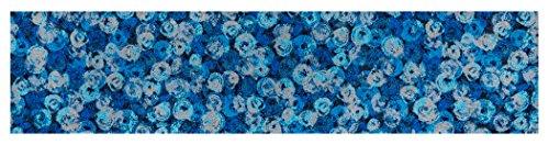 クリーンテックス キッチンマット 『 wash + dry (ウォッシュアンドドライ) D?cor / Punilla blue / 60×260cm / K014F 』 台所マット