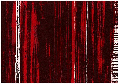 クリーンテックス ラグ 『 wash + dry (ウォッシュアンドドライ) D?cor / Abadan red / 140×200cm / K021K 』 マット