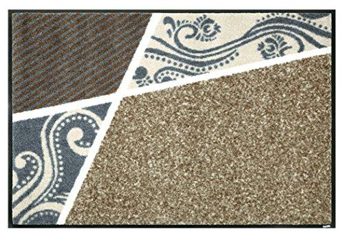 クリーンテックス 玄関マット 『 wash + dry (ウォッシュアンドドライ) Modern Interior / Belgo beige / 50×75cm / C020A 』 エントランスマット