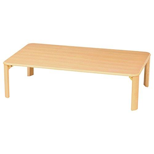 シンプル座卓テーブル(折脚)/Z-T1275(NA)/ 4933178106570/ 株式会社 弘益