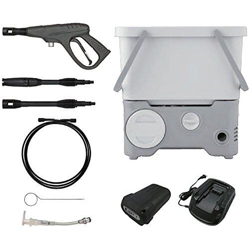 タンク式高圧洗浄機コードレスタイプ/ ホワイト/ SDT-L01N/ 4967576328043/ 568834 アイリスオーヤマ