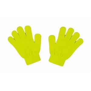 【まとめ買い 40個セット】 / カラーのびのび手袋 蛍光イエロー/2268/ 4521718022680/ アーテック