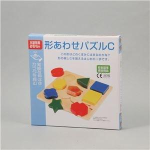 【まとめ買い 36個セット】 / △形あわせパズル C(木製玩具)/7526/ 4521718075266/ アーテック