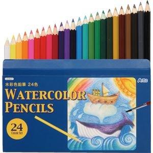 【まとめ買い 40個セット】 / △水彩色鉛筆24色/120627/ 4548030206277/ アーテック