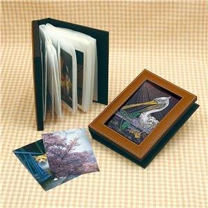 【まとめ買い 40個セット】 / △レザー調写真ファイル アートガラス/13423/ 4521718134239/ アーテック
