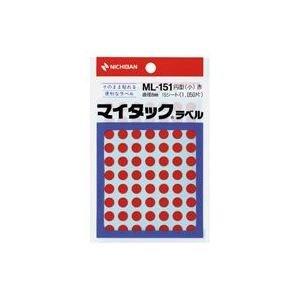 【200セット販売】ニチバン/マイタツクラベル ML-151 アカ   /ML-1511/4987167001056