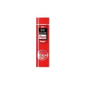 【200セット販売】ぺんてる/Pentel アイン替芯 シュタイン 0.5 赤芯/C275-RD/4902506269317
