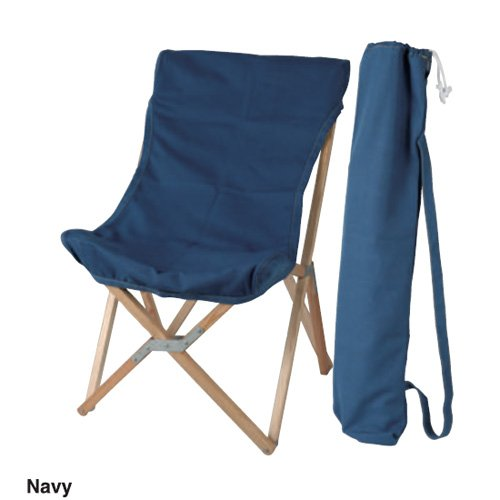 【 WOODEN BEACH CHAIR NAVY 】 100-248NB / 4997337124812 / ダルトン