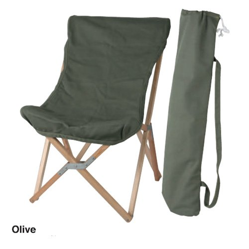 【 WOODEN BEACH CHAIR OLIVE 】 100-248OV / 4997337124829 / ダルトン