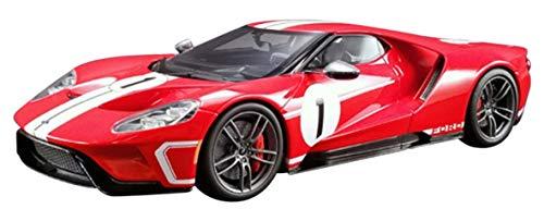 1/18 フォードGT ヘリテイジ(レッド/ホワイトストライプ#1)US GTS008US-A GT SPIRIT 4548565353873 京商ダイキャスト