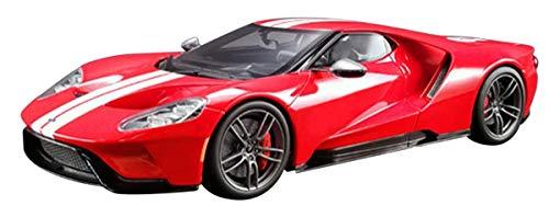 1/18 フォードGT ヘリテイジ(レッド/ホワイトストライプ)US GTS008US-B GT SPIRIT 4548565353880 京商ダイキャスト