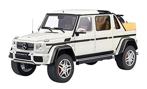 1/18 メルセデス マイバッハ G650 ランドレー(ホワイト) GTS022KJ GT SPIRIT 4548565346707 京商ダイキャスト