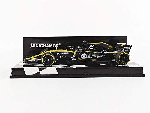1/43 ルノースポーツF1 RS18 ニコ・ヒュルケンベルグ2018 417180027 MINICHAMPS 4012138158313 京商ダイキャスト