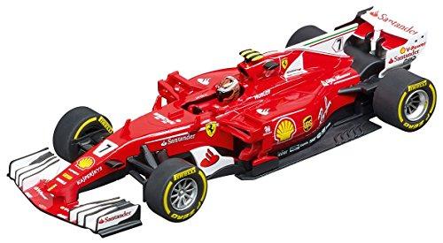 D132 フェラーリ SF70H ライコネン No.7 20030843 CARRERAスロットカー 4007486308435 京商ダイキャスト