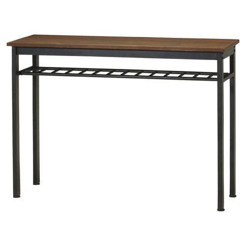 エヴァンスハイテーブル EVS-HT120 ブラウン 幅120x奥行40x高さ86.5cm ★ エヴァンス ハイテーブル / EVS-HT120 ★ カウンターテーブル テーブル