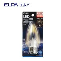 【まとめ買い10個】ELPA LED装飾電球 シャンデリア球形 E26 クリア電球色 LDC1CL-G-G337