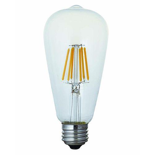 【まとめ買い10個】東京メタル工業 LED電球 フィラメントタイプエジソン形 40W E26 LDST4WSTC-T2